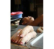 Hanoi Butcher Photographic Print
