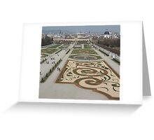 Belvedere Garden, Austria Greeting Card