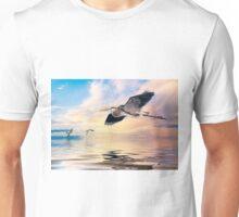 Gulf Sunset Reflections Unisex T-Shirt