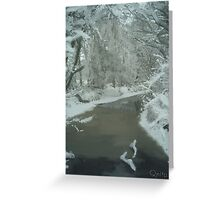 Frosty in Pastels (The Netherlands) Greeting Card