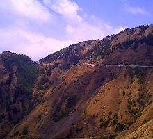 The Road To Mussoorie... by HansBellani