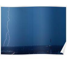 Split Lightning Poster