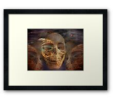 Darwin Shrugged Framed Print