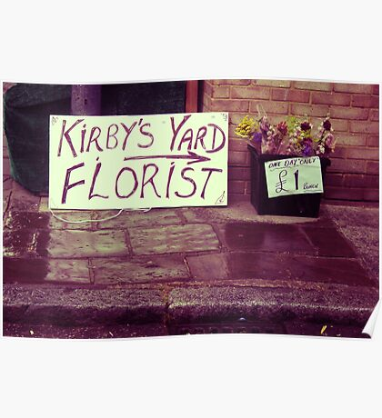 Smallest Florist in Town Poster