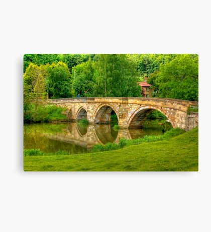 Kirkham Bridge - River Derwent Canvas Print