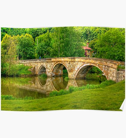 Kirkham Bridge - River Derwent Poster