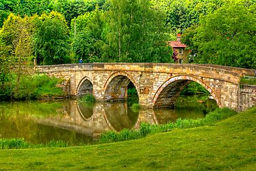 Kirkham Bridge - River Derwent by Trevor Kersley
