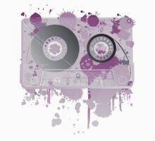 Cassette Series Nr. 3 - Purple Madness by MrMasai