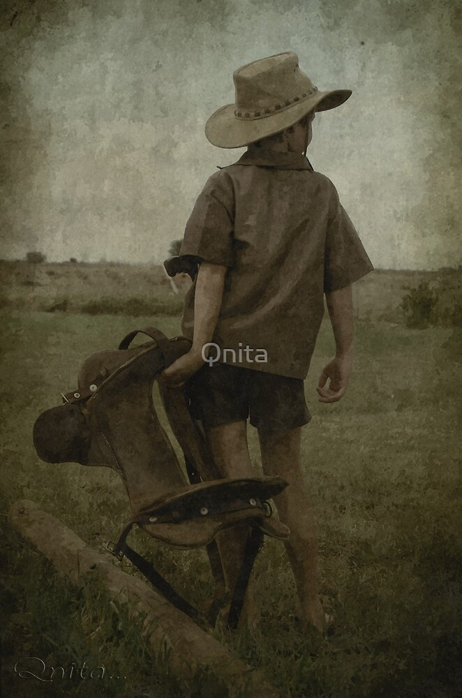 Now I only need a horse... (Free State, South Africa) by Qnita