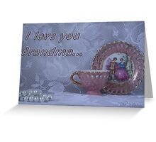 I Love You, Grandma... Free state, South Africa Greeting Card