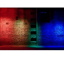 Red and the Blue Photographic Print