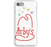 The Mysterious Lights Above the Arbys iPhone Case/Skin