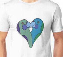 Parrot Heart Unisex T-Shirt