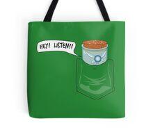 Hey! Listen! Pocket Navi Tote Bag