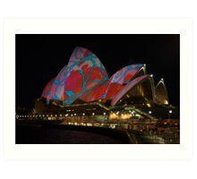 Light Art - Vivid Sydney 2009 Art Print