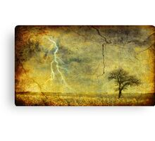 A stormy Spring Canvas Print