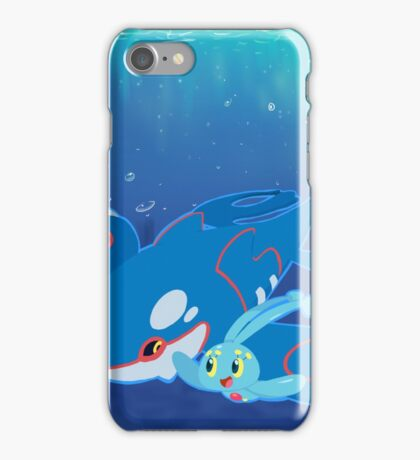 Kyogre and Manaphy iPhone Case/Skin