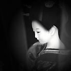 Geisha in the moonlight by Tanja Katharina Klesse