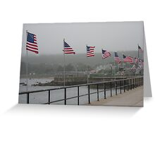 Gloucester Flags Greeting Card