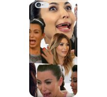 Kimmy K Crying Collage iPhone Case/Skin