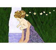 Narcissus newborn Photographic Print