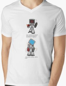 When Computers take over... Mens V-Neck T-Shirt