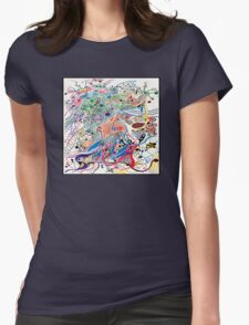 Samba dance  Womens Fitted T-Shirt