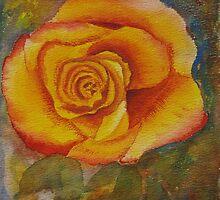 Yellow Rose by Enoeda