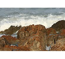 Rock Face Photographic Print