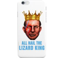 All Hail The Lizard King - Ziggy Stardust Variant iPhone Case/Skin