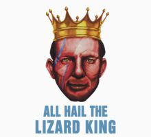 All Hail The Lizard King - Ziggy Stardust Variant Kids Clothes