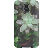 Garden Green Succulents Samsung Galaxy Case/Skin