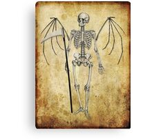 Angel of death... Canvas Print