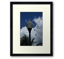 The Lampost Framed Print
