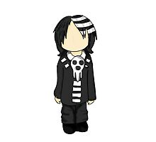 """Baby Stripes"" Death the kid  by BabyDuckBook"