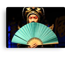 Sichuan  Opera, China Canvas Print