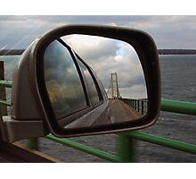Mackinac in the Mirror Photographic Print