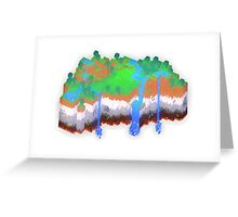 Minecraft Theme Greeting Card