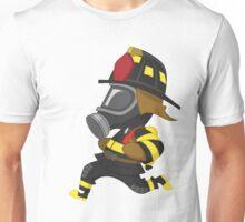 Firefighter hurry. Unisex T-Shirt