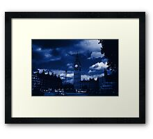 .: The Face of Time :. Framed Print