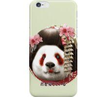 GEISHA PANDA iPhone Case/Skin
