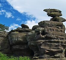 Brimham Rocks by WatscapePhoto