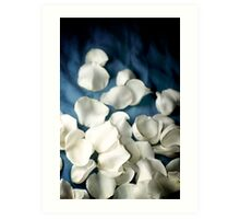 Cover My Blues with Roses Art Print