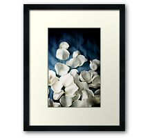 Cover My Blues with Roses Framed Print