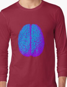 Psychedelic Brain Long Sleeve T-Shirt