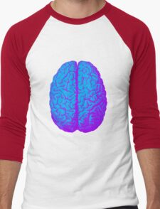 Psychedelic Brain Men's Baseball ¾ T-Shirt
