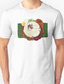 """Malaysian Coconut Rice - """"Nasi Lemak"""" Unisex T-Shirt"""