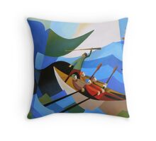 TASMANIAN WHALERS Throw Pillow