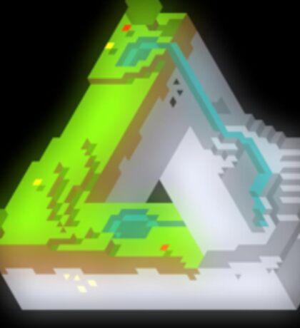 Optical Illusion Minecraft Sticker
