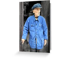Mao's blue suit, China Greeting Card